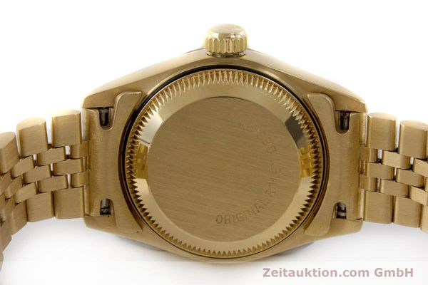 Used luxury watch Rolex Lady Datejust 18 ct gold automatic Kal. 2135 Ref. 69268  | 161866 08