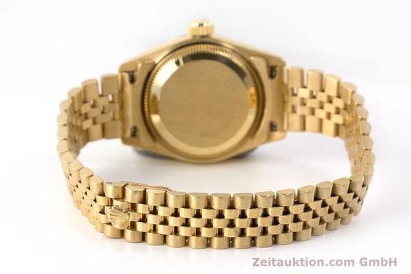 Used luxury watch Rolex Lady Datejust 18 ct gold automatic Kal. 2135 Ref. 69268  | 161866 12