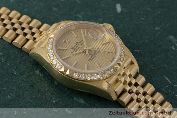 Used luxury watch Rolex Lady Datejust 18 ct gold automatic Kal. 2135 Ref. 69268  | 161866 16