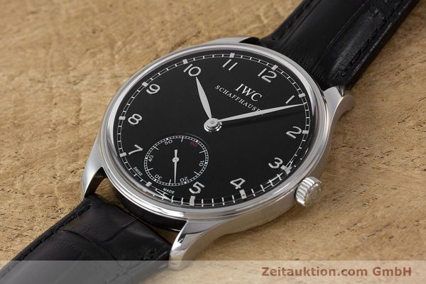 Used luxury watch IWC Portugieser steel manual winding Kal. C98295 Ref. 5454  | 161869 01