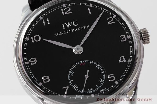 Used luxury watch IWC Portugieser steel manual winding Kal. C98295 Ref. 5454  | 161869 02