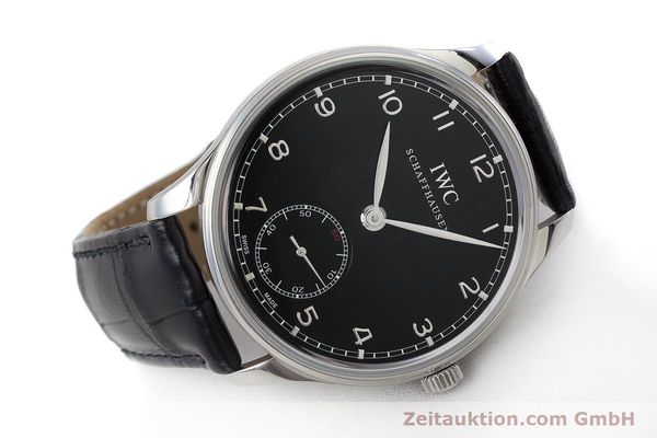 Used luxury watch IWC Portugieser steel manual winding Kal. C98295 Ref. 5454  | 161869 03