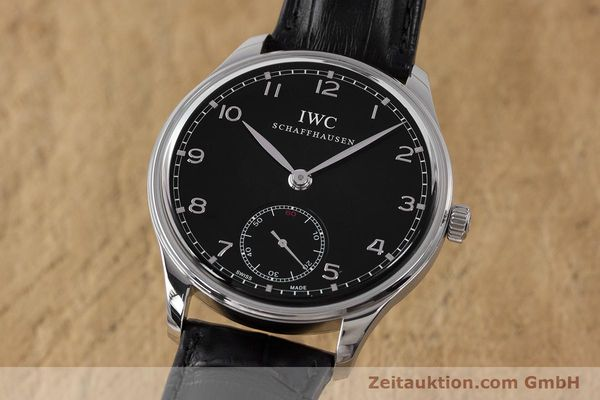 Used luxury watch IWC Portugieser steel manual winding Kal. C98295 Ref. 5454  | 161869 04