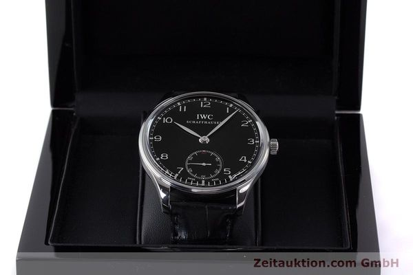 Used luxury watch IWC Portugieser steel manual winding Kal. C98295 Ref. 5454  | 161869 07