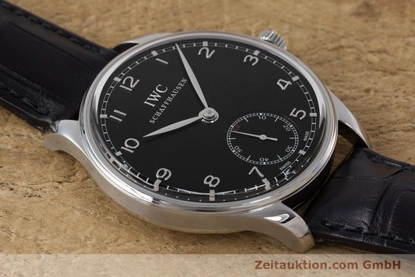 Used luxury watch IWC Portugieser steel manual winding Kal. C98295 Ref. 5454  | 161869 15