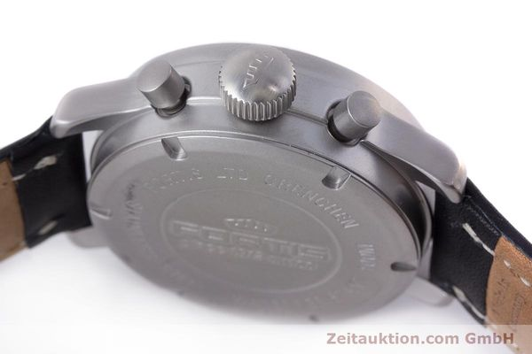 Used luxury watch Fortis Flieger Chronograph chronograph steel automatic Kal. ETA 7750 Ref. 597.10.141  | 161871 08