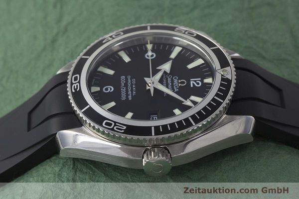 Used luxury watch Omega Seamaster steel automatic Kal. 2500 Ref. 29015037  | 161878 05