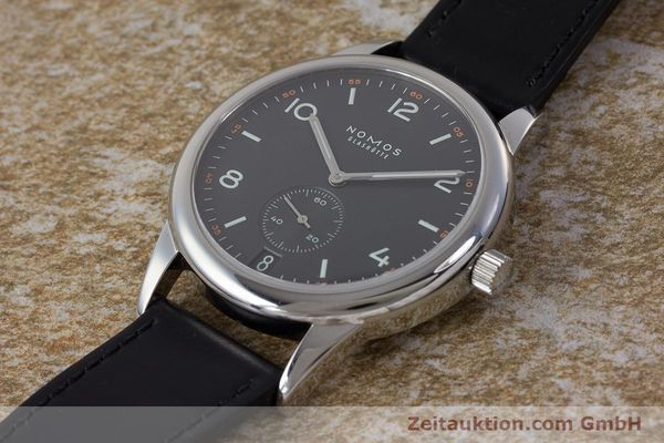 Used luxury watch Nomos Club steel automatic Kal. Zeta  | 161879 01