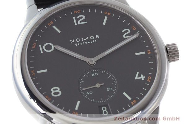 Used luxury watch Nomos Club steel automatic Kal. Zeta  | 161879 02