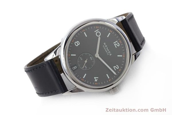 Used luxury watch Nomos Club steel automatic Kal. Zeta  | 161879 03