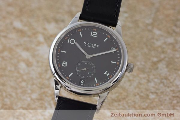 Used luxury watch Nomos Club steel automatic Kal. Zeta  | 161879 04
