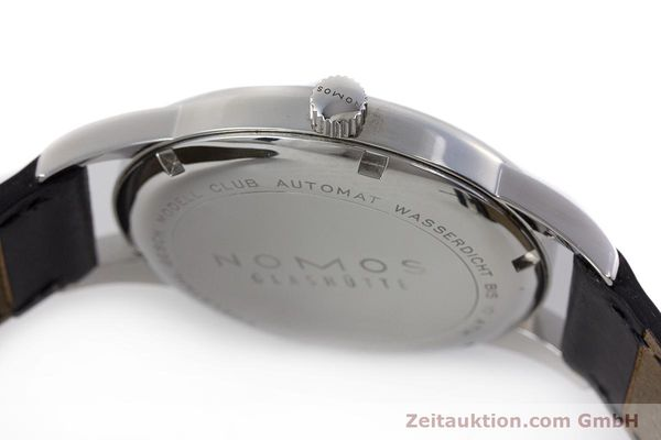 Used luxury watch Nomos Club steel automatic Kal. Zeta  | 161879 10