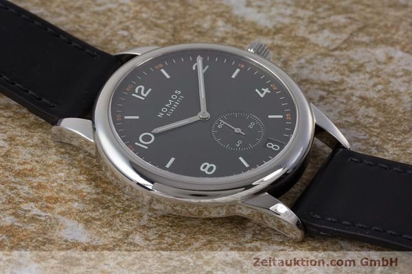 Used luxury watch Nomos Club steel automatic Kal. Zeta  | 161879 14