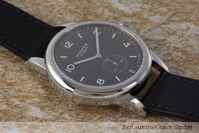 NOMOS CLUB STEEL AUTOMATIC KAL. ZETA LP: 2320EUR [161879]