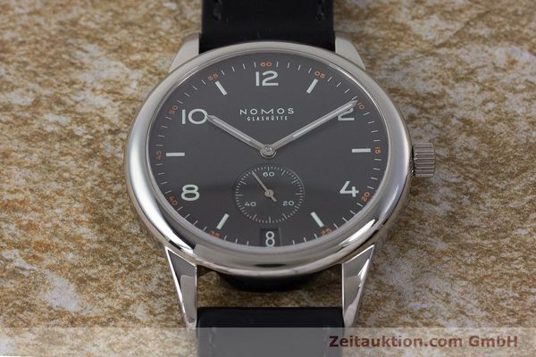 Used luxury watch Nomos Club steel automatic Kal. Zeta  | 161879 15