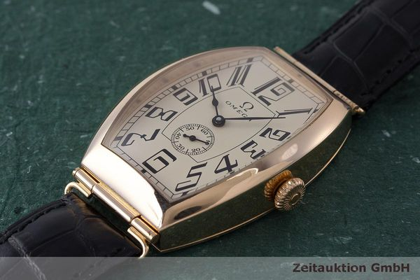 gebrauchte Luxusuhr Omega 1915 18k Rotgold Automatik Kal. 2200 Ref. 3672003 LIMITED EDITION | 161880 01