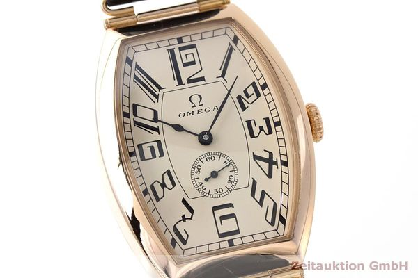 gebrauchte Luxusuhr Omega 1915 18k Rotgold Automatik Kal. 2200 Ref. 3672003 LIMITED EDITION | 161880 02