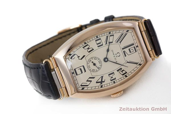 gebrauchte Luxusuhr Omega 1915 18k Rotgold Automatik Kal. 2200 Ref. 3672003 LIMITED EDITION | 161880 03