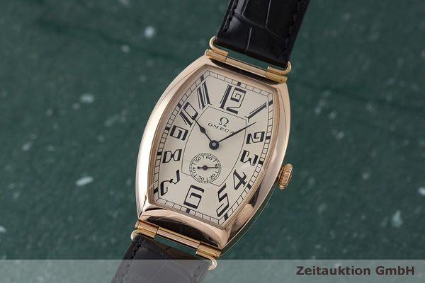 gebrauchte Luxusuhr Omega 1915 18k Rotgold Automatik Kal. 2200 Ref. 3672003 LIMITED EDITION | 161880 04