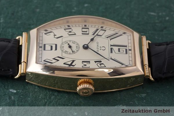 gebrauchte Luxusuhr Omega 1915 18k Rotgold Automatik Kal. 2200 Ref. 3672003 LIMITED EDITION | 161880 05