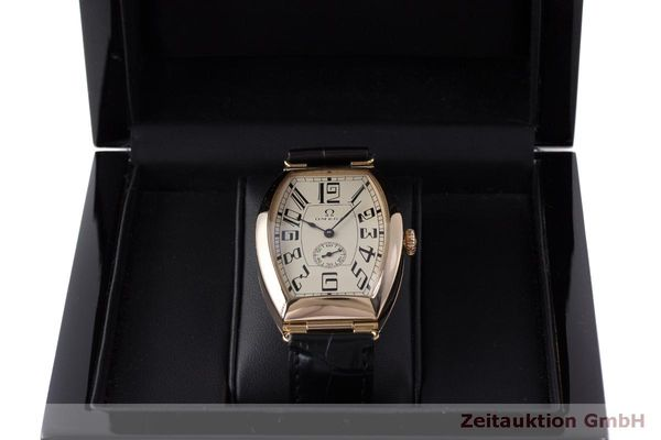 gebrauchte Luxusuhr Omega 1915 18k Rotgold Automatik Kal. 2200 Ref. 3672003 LIMITED EDITION | 161880 07