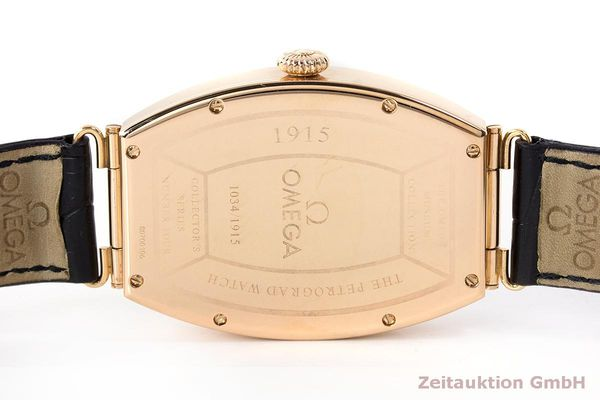 gebrauchte Luxusuhr Omega 1915 18k Rotgold Automatik Kal. 2200 Ref. 3672003 LIMITED EDITION | 161880 08