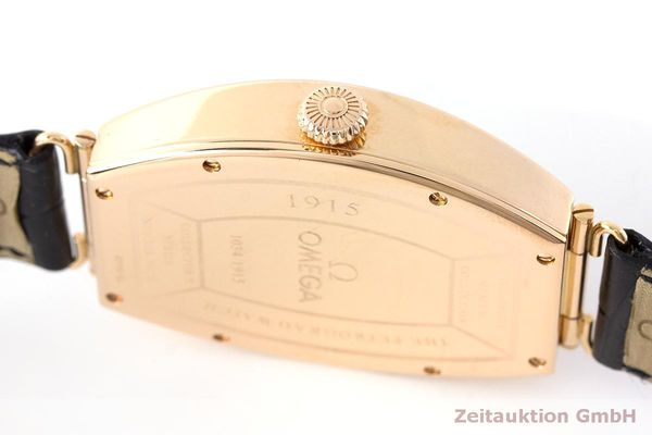 gebrauchte Luxusuhr Omega 1915 18k Rotgold Automatik Kal. 2200 Ref. 3672003 LIMITED EDITION | 161880 11