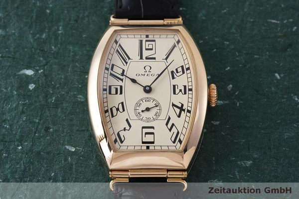 gebrauchte Luxusuhr Omega 1915 18k Rotgold Automatik Kal. 2200 Ref. 3672003 LIMITED EDITION | 161880 16