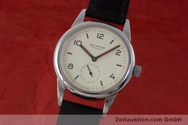 NOMOS CLUB STEEL MANUAL WINDING KAL. ALPHA LP: 1080EUR [161881]