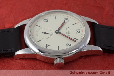 NOMOS CLUB ACERO CUERDA MANUAL KAL. ALPHA LP: 1080EUR [161881]
