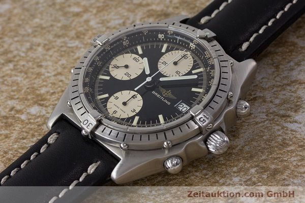 Used luxury watch Breitling Chronomat chronograph steel automatic Kal. Valj. 7750 Ref. 81950A  | 161893 01