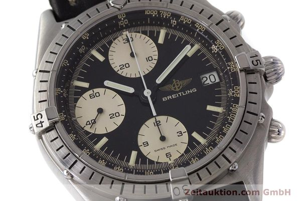 Used luxury watch Breitling Chronomat chronograph steel automatic Kal. Valj. 7750 Ref. 81950A  | 161893 02