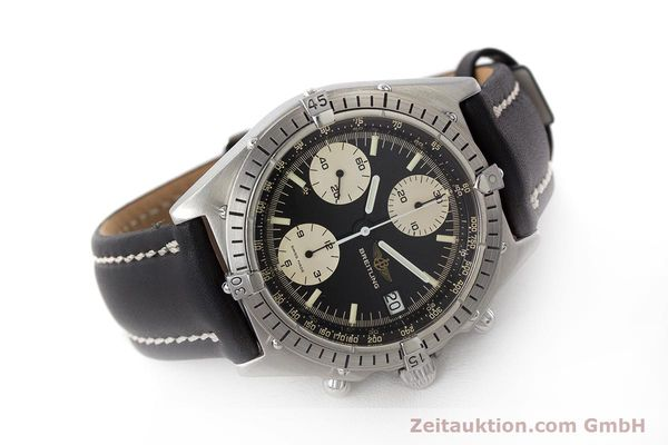 Used luxury watch Breitling Chronomat chronograph steel automatic Kal. Valj. 7750 Ref. 81950A  | 161893 03