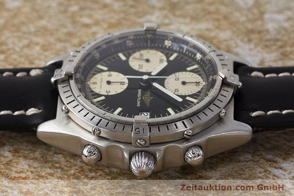Used luxury watch Breitling Chronomat chronograph steel automatic Kal. Valj. 7750 Ref. 81950A  | 161893 05