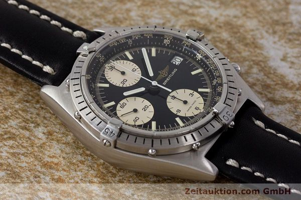 Used luxury watch Breitling Chronomat chronograph steel automatic Kal. Valj. 7750 Ref. 81950A  | 161893 14