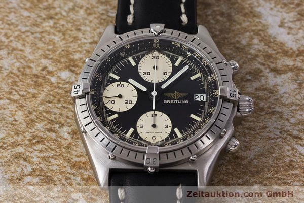 Used luxury watch Breitling Chronomat chronograph steel automatic Kal. Valj. 7750 Ref. 81950A  | 161893 15