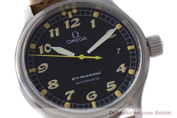 Used luxury watch Omega Dynamic steel automatic Kal. 1108 ETA 2892A2 Ref. 166.0310  | 161895 02