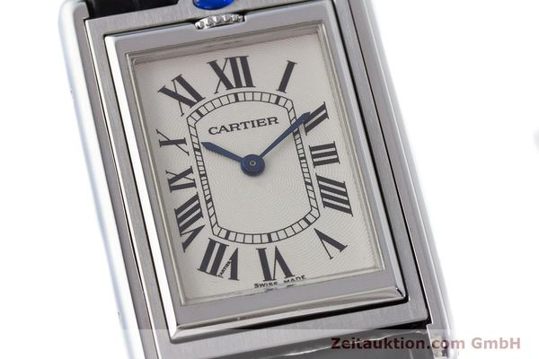Used luxury watch Cartier Tank steel manual winding Kal. 060MC Ref. 2390  | 161898 02