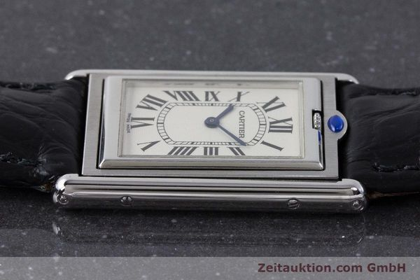 Used luxury watch Cartier Tank steel manual winding Kal. 060MC Ref. 2390  | 161898 05