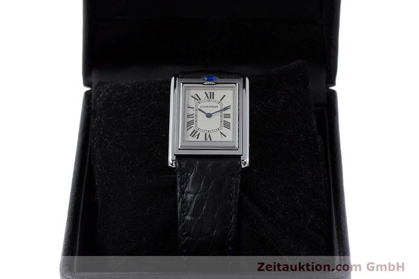 Used luxury watch Cartier Tank steel manual winding Kal. 060MC Ref. 2390  | 161898 07