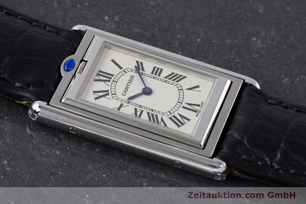 Used luxury watch Cartier Tank steel manual winding Kal. 060MC Ref. 2390  | 161898 12