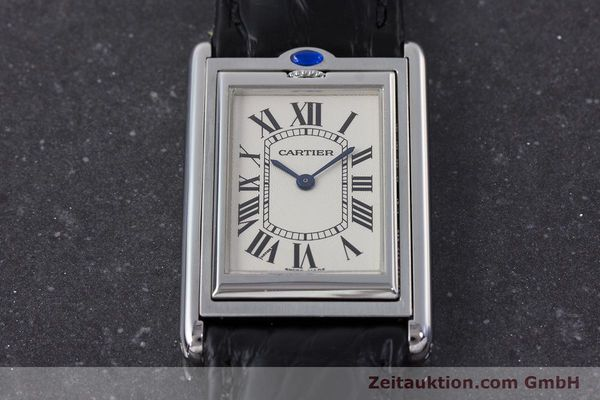 Used luxury watch Cartier Tank steel manual winding Kal. 060MC Ref. 2390  | 161898 13