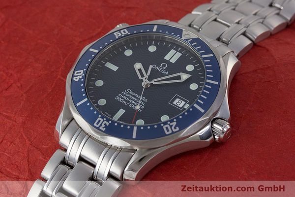 Used luxury watch Omega Seamaster steel automatic Kal. 1120 Ref. 25318000  | 161899 01