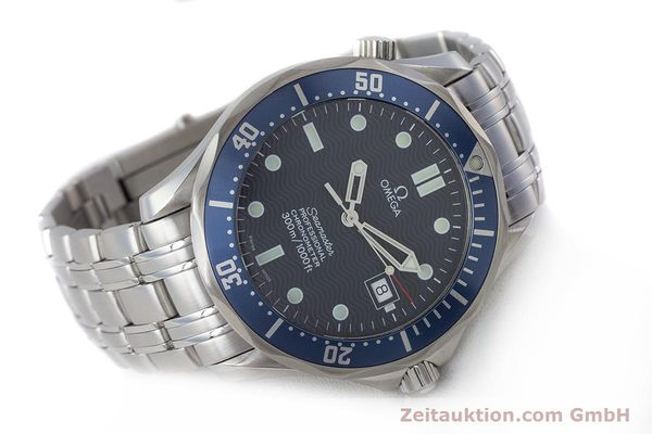 Used luxury watch Omega Seamaster steel automatic Kal. 1120 Ref. 25318000  | 161899 03