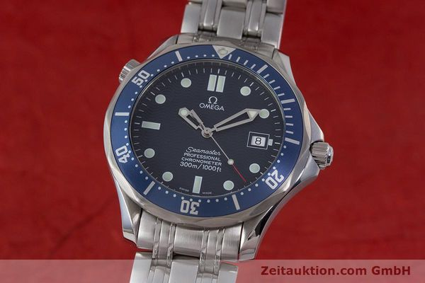 Used luxury watch Omega Seamaster steel automatic Kal. 1120 Ref. 25318000  | 161899 04
