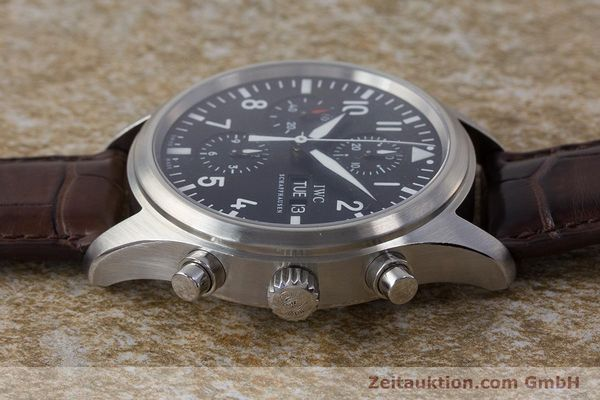 Used luxury watch IWC Fliegeruhr chronograph steel automatic Kal. 79320 Ref. 3717  | 161904 01