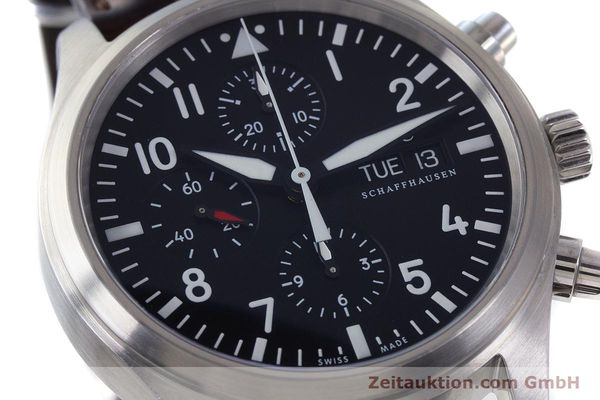 Used luxury watch IWC Fliegeruhr chronograph steel automatic Kal. 79320 Ref. 3717  | 161904 03