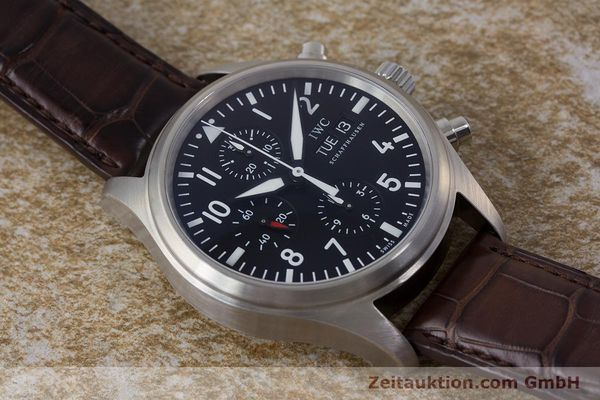 Used luxury watch IWC Fliegeruhr chronograph steel automatic Kal. 79320 Ref. 3717  | 161904 17