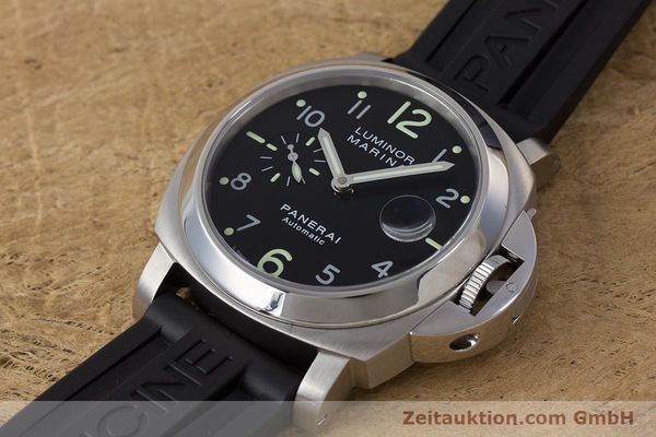Used luxury watch Panerai Luminor Marina steel automatic Kal. ETA A05511 Ref. OP6553 PAM00164  | 161908 01