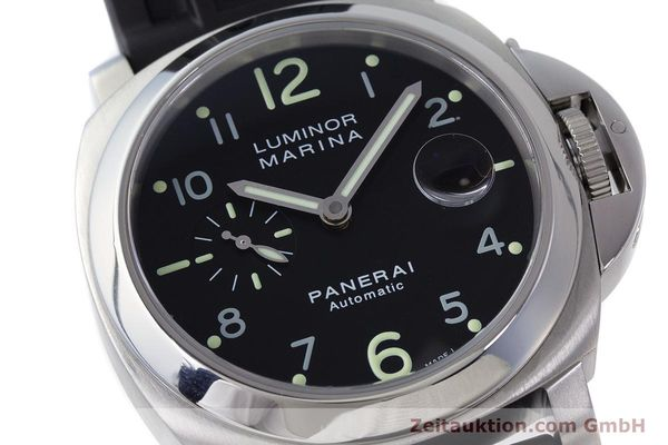 Used luxury watch Panerai Luminor Marina steel automatic Kal. ETA A05511 Ref. OP6553 PAM00164  | 161908 02